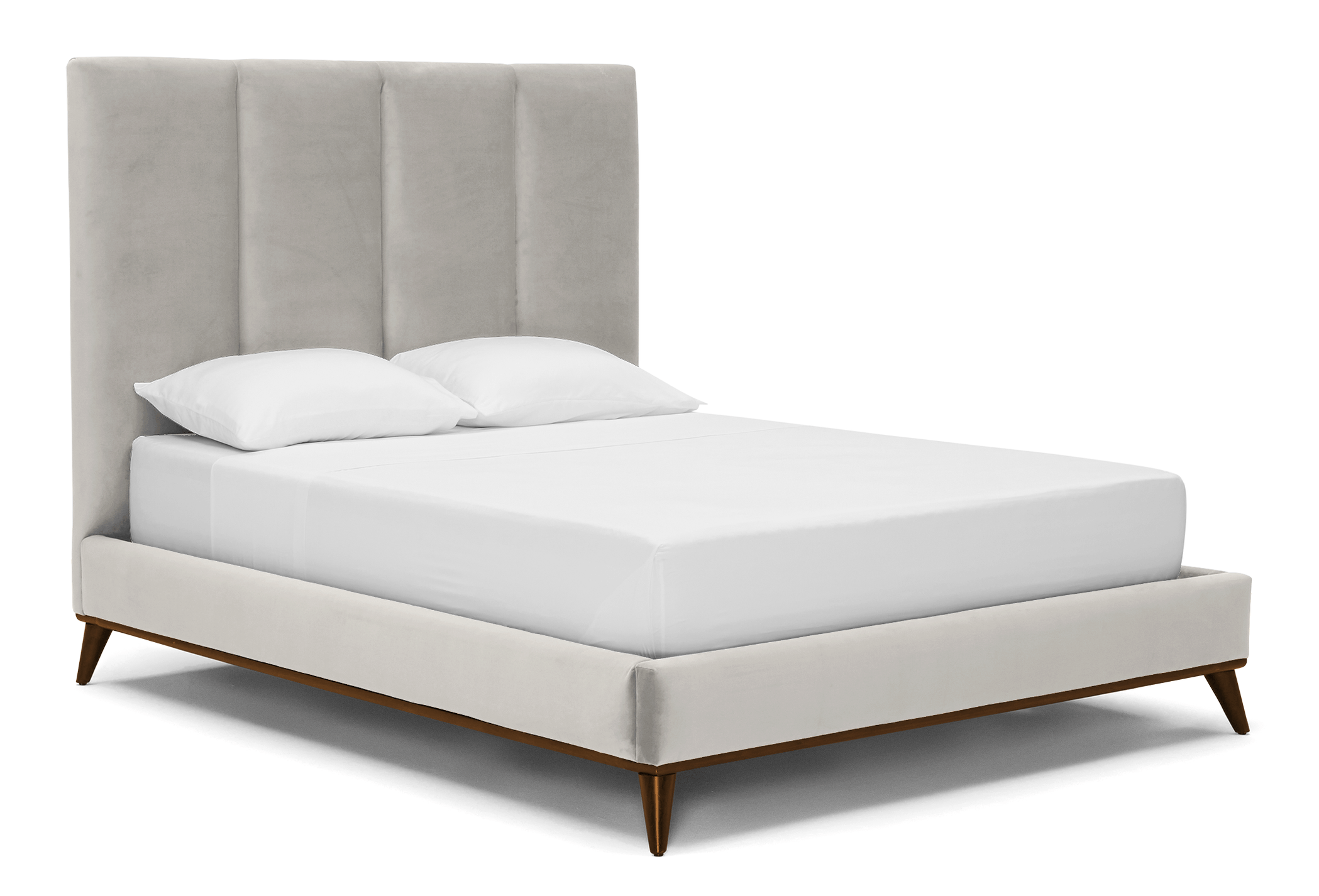 connor bed tussah snow