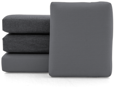 soto concave cushions and covers %28set%29 essence ash