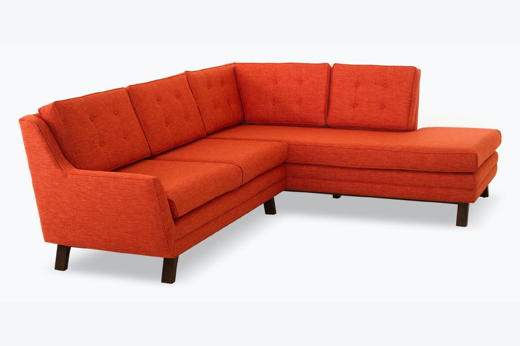 hero eastwood sectional with bumper