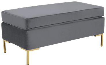 dee bench with storage essence ash