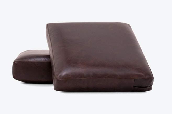 soto leather cushions and covers %28set%29