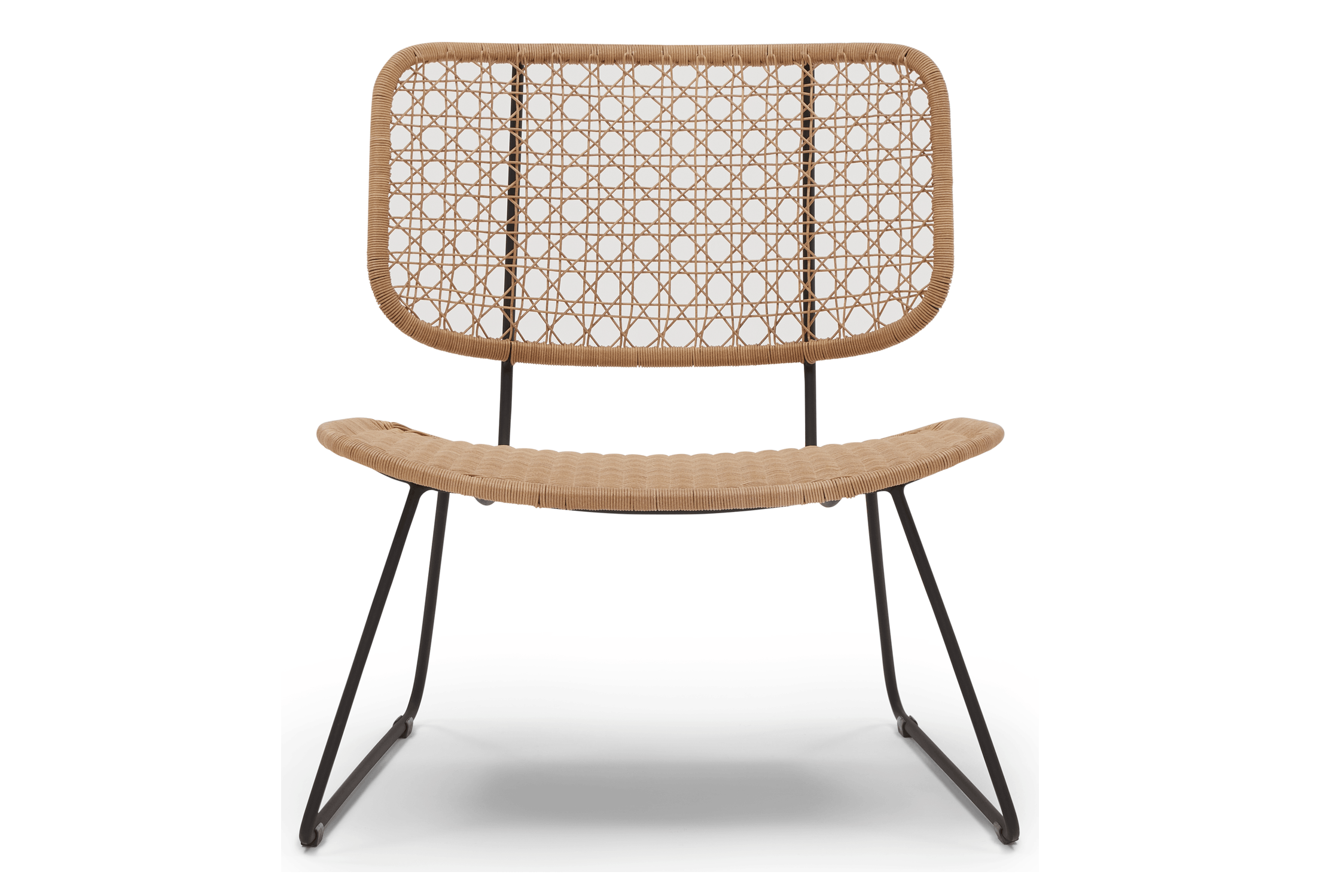 natural cabrillo outdoor lounge chair