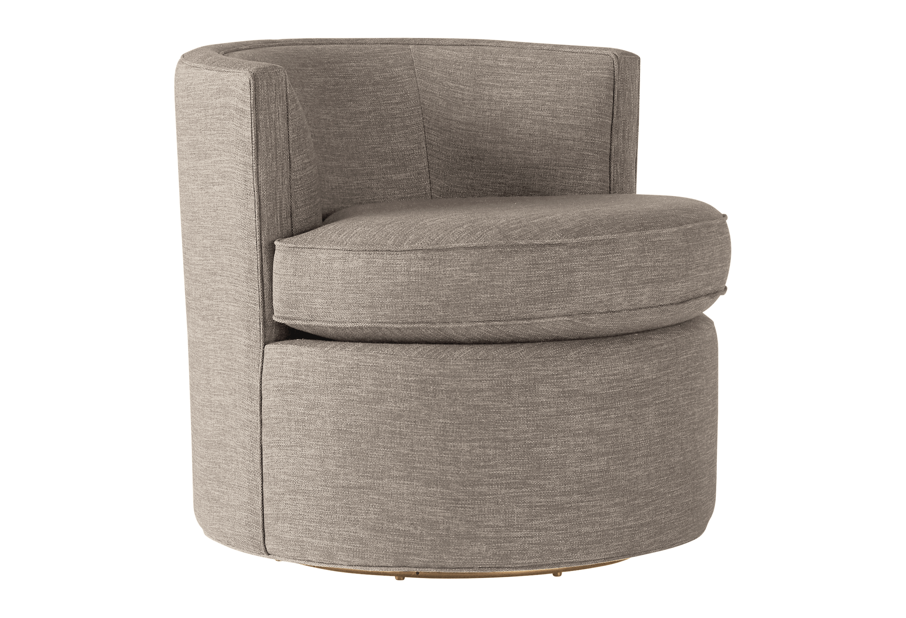 carly swivel chair prime stone