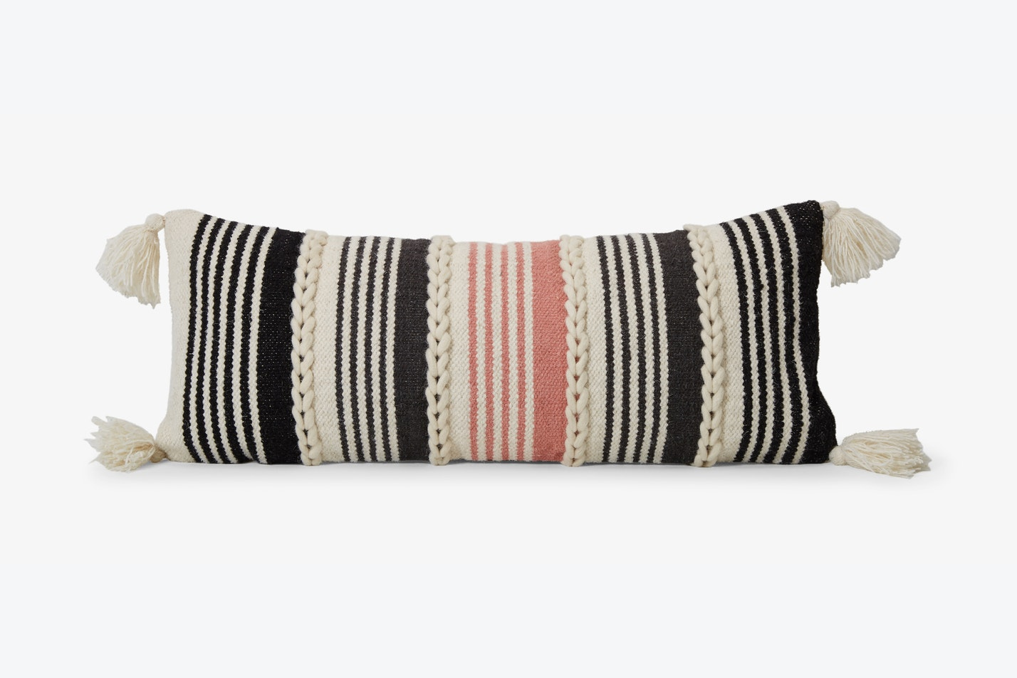 Braided Pink Pillow